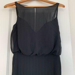 bari jay chiffon dress / gown style 1661